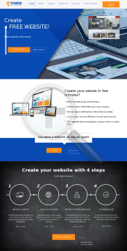 4ToWeb Easy Website Builder Basic Website Yearly Billing preview. Click for more details