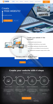 4ToWeb Easy Website Builder Professional Website Montly Billing preview. Click for more details