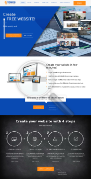 4ToWeb Easy Website Builder Standard Website Montly Billing preview. Click for more details