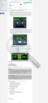 Audio Sound Suite API for NET Compact version Commercial edition preview. Click for more details