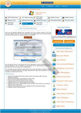 DDR SIM CARD RECOVERY Software FULL Version preview. Click for more details