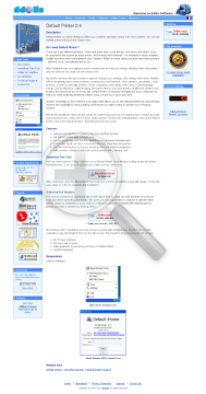 Default Printer Full Version preview. Click for more details