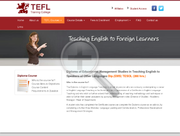 Diploma EMS TESOL 200 hr Course preview. Click for more details
