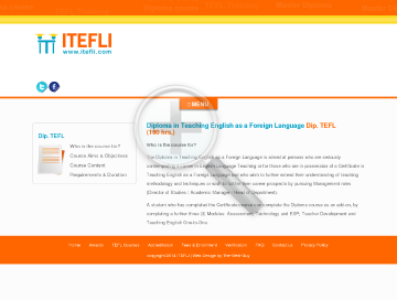Diploma in TEFL 180 hrs Course preview. Click for more details