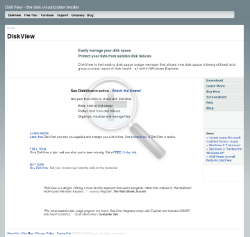 DiskView Standard Edition preview. Click for more details