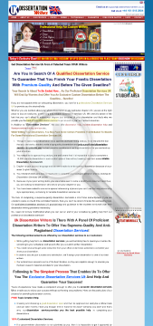 dissertation Custom Dissertation preview. Click for more details