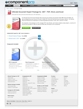 Document Expert Package for NET Premium Version for Developer With Source Code Year Subscription preview. Click for more details