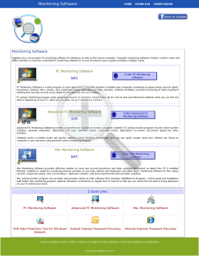 DRPU PC Data Manager Advanced KeyLogger Full Version preview. Click for more details