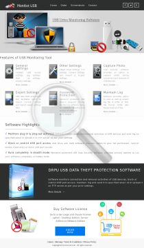 DRPU USB AntiData Theft Protection Full Version preview. Click for more details