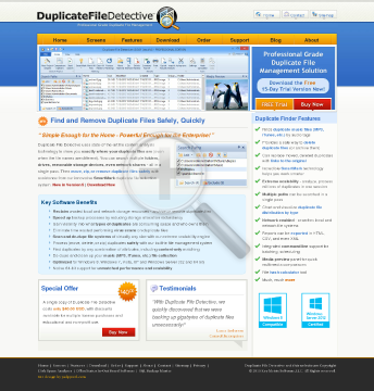 Duplicate File Detective v5 SiteWide License preview. Click for more details