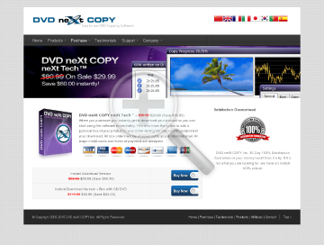 DVD neXt COPY neXt Tech Download Only V4 preview. Click for more details