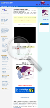 EasyAs Accounting Software EasyAs Accounting preview. Click for more details