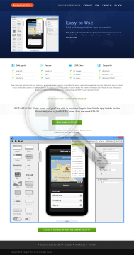 EasytoUse Mobile App Builder Full Version preview. Click for more details