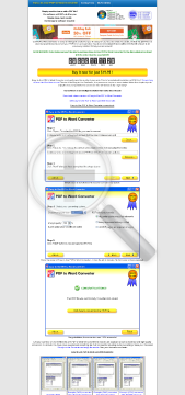 EasytoUse PDF to Word Converter 2012 Full Version preview. Click for more details