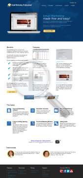 Email Marketing Pro 100 Contacts preview. Click for more details