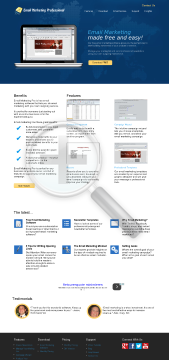 Email Marketing Pro 1000 Contacts preview. Click for more details