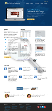 Email Marketing Pro 500 Contacts preview. Click for more details