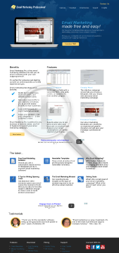 Email Marketing Pro Enterprise Edition preview. Click for more details