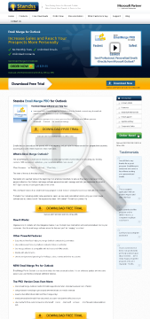 EmailMerge PRO for Outlook Full Version preview. Click for more details