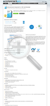 Excel Component for NET Standard Version for Developer No Source Code Year Subscription preview. Click for more details