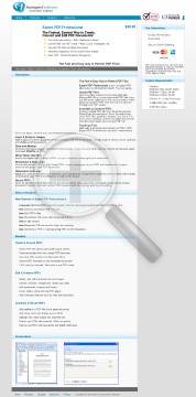 Expert PDF Professional v9 PC License preview. Click for more details