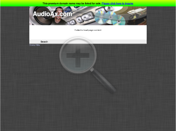 ExpressLib Audio Player AX Personal preview. Click for more details