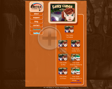 Fairy Cubes for Mac OS Full Version preview. Click for more details