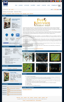 Fantasy Kommander Eukarion Wars Physical with Free Download preview. Click for more details
