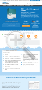 ITSM Incident Management Toolkit Deutsch standard version preview. Click for more details