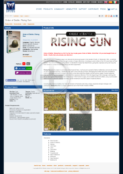 Order of Battle Rising Sun Download preview. Click for more details