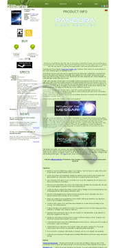 Pandora First Contact PC MAC Linux Physical with Free Download preview. Click for more details