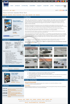 Panzer Command Operation Winter Storm Physical with Free download preview. Click for more details