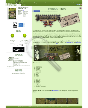 Panzer Corps Corps 4445 PC Download preview. Click for more details