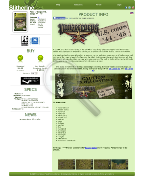 Panzer Corps Corps 4445 PC Physical With Free Download preview. Click for more details