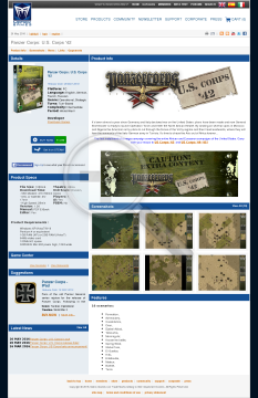 Panzer Corps Corps 4445 Physical with Free download preview. Click for more details