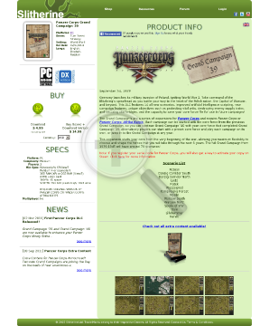 Panzer Corps Grand Campaign 39 PC Download preview. Click for more details
