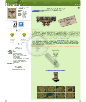 Panzer Corps Grand Campaign 40 PC Download preview. Click for more details