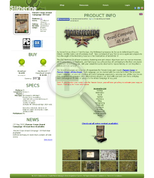 Panzer Corps Grand Campaign 45 East PC Physical With Free Download preview. Click for more details