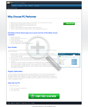 PCPerformer PC Performer preview. Click for more details