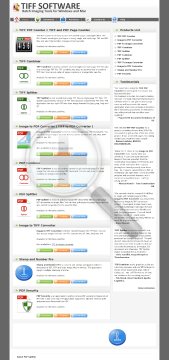 PDF Combiner Site License preview. Click for more details