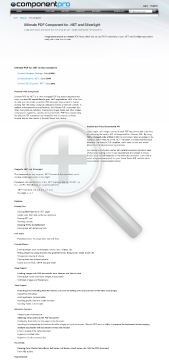 PDF Component for NET Late Renewal Standard Version for Company No Source Code Year Subscription preview. Click for more details
