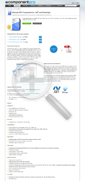 PDF Component for NET Premium Version for Company With Source Code Year Subscription preview. Click for more details