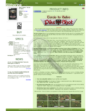 Pike Shot Tercio to Salvo PC Download preview. Click for more details