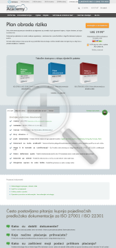Plan obrade rizika HR standard version preview. Click for more details
