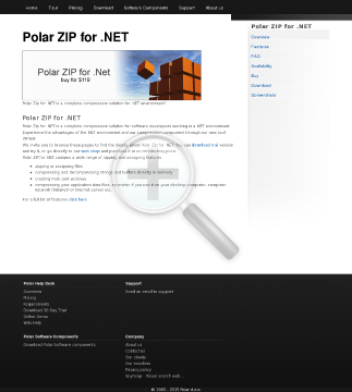 Polar ZIP for NET license preview. Click for more details
