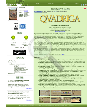 Qvadriga Promo PC Physical with Free Download preview. Click for more details