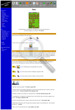 Rats Full Version preview. Click for more details