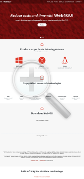 Stunnix Advanced Web Server Unlimited Applications Edition preview. Click for more details