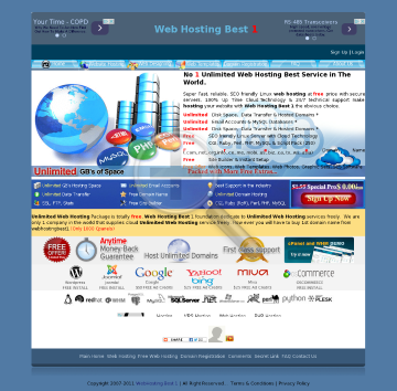 Web Hosting Best 12 Months preview. Click for more details