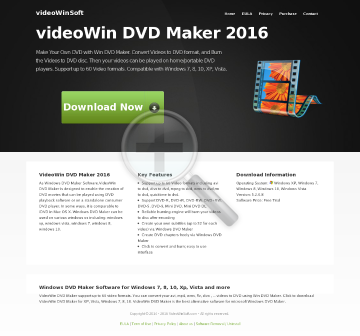 Win DVD Maker Full Version preview. Click for more details